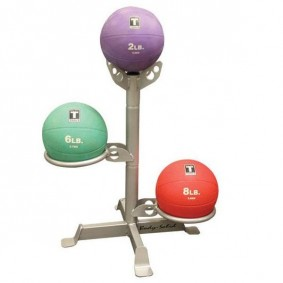 Accessoires en Gadgets - Opbergrekken - kopen - 3 Medicine Ball Rack – BodySolid GMR5