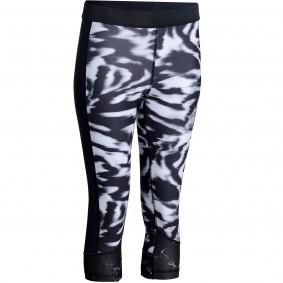 Fitnesskleding Dames - kopen - Adidas 7/8-legging dames fitness zwart/wit