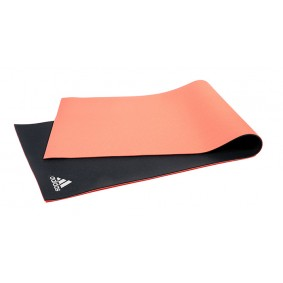 Yoga & Pilates - kopen - Adidas Dubbelzijdige Yoga Mat 173 x 61 x 0,6 cm – Rood/Grijs