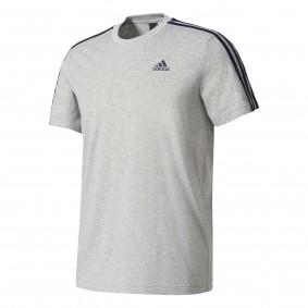 Fitnesskleding Heren - Heren Shirts en Polo's - kopen - Adidas Ess 3s Tee Heren sportshirt