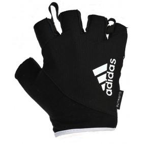 Fitnesshandschoenen - kopen - Adidas Essential Fitnesshandschoenen – Kort – Zwart/Wit_XL