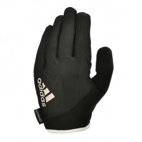Fitnesshandschoenen - kopen - Adidas Essential Fitnesshandschoenen – Lang – Zwart/Wit_L