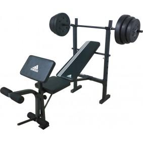 Halterbanken - kopen - Adidas Strength Bench met 45 kg