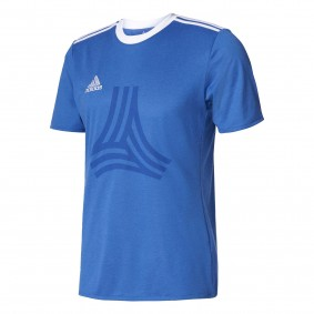 Fitnesskleding Heren - Heren Shirts en Polo's - kopen - Adidas Tanc logo Tee Heren sportshirt