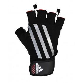 Fitnesshandschoenen - kopen - Adidas Weightlifting Handschoenen – Kort – Zilver
