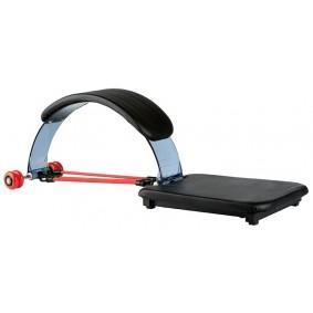Buiktrainers - Krachtapparatuur - kopen - Amigo buikspiertrainer Ab Flex zwart 100 x 32 x 33 cm