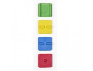 Balance boards - kopen - Artzt Vitality Mini Stabiliteitstrainers – 4 stuks
