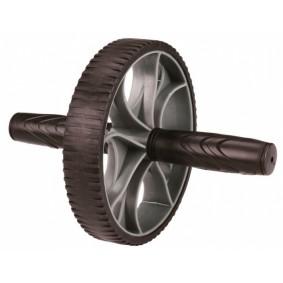 Buiktrainers - Krachtapparatuur - kopen - Avento Fitness Trainingswiel 16 cm Zwart Met Grijs