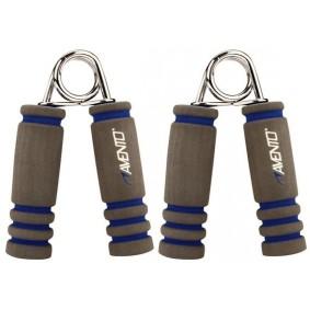 Handtrainers - Krachtapparatuur - kopen - Avento Foam Handknijpers Grijs/Blauw Per Paar
