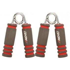 Handtrainers - Krachtapparatuur - kopen - Avento Foam Handknijpers Grijs/Roze Per Paar
