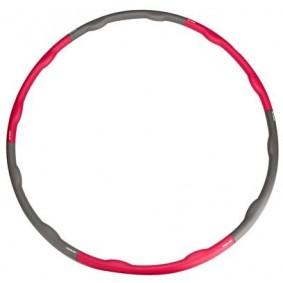 Buiktrainers - Krachtapparatuur - kopen - Avento Hoelahoop Foam 6 Delig 100 cm/1.2 KG Grijs/Roze