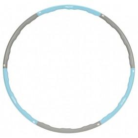 Buiktrainers - Krachtapparatuur - kopen - Avento Hoelahoop Foam lichtblauw/grijs 100 cm