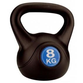 Kettlebells - Krachtapparatuur - kopen - Avento Kettlebell Plastic Cement 8 KG