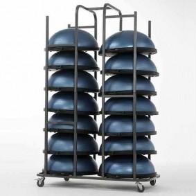 Balance boards - kopen - BOSU® Opbergkar voor 14-18 Balanstrainers