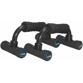 Accessoires en Gadgets - Opdruksteunen - kopen - Care Fitness opdruksteunen Push up bar 2 stuks zwart