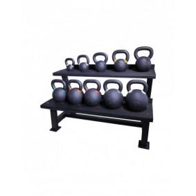 Accessoires en Gadgets - Opbergrekken - kopen - Crossmaxx kettlebell rek (zwart)