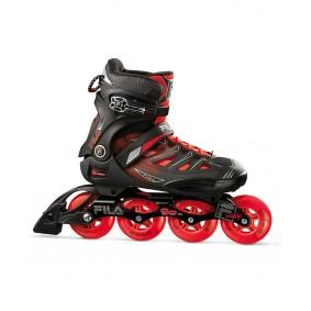 Skates - Sportschoenen en Accessoires - kopen - Fila Ghibli 90 Inliner Heren – Zwart / Rood – 10,5