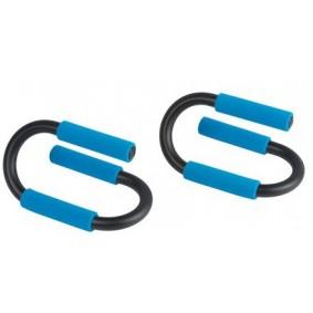 Accessoires en Gadgets - Opdruksteunen - kopen - Fitmax Opdruksteunen blauw 2 stuks