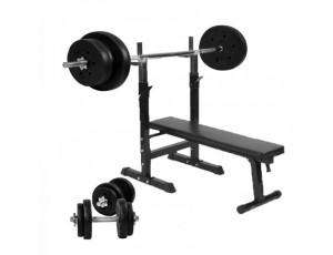 Halterbanken - Krachtapparatuur - kopen - Dumbell 20 kg (1 x 20 kg)