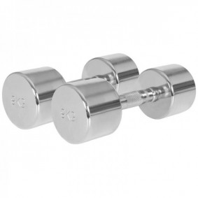 Halterbanken - Krachtapparatuur - kopen - Chroom Dumbellset 18 kg (2 x 9 kg)