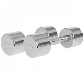 Halterbanken - Krachtapparatuur - kopen - Chroom Dumbellset 14 kg (2 x 7 kg)