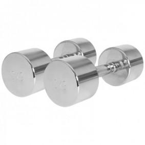 Halterbanken - Krachtapparatuur - kopen - Chroom Dumbellset 20 kg (2 x 10 kg
