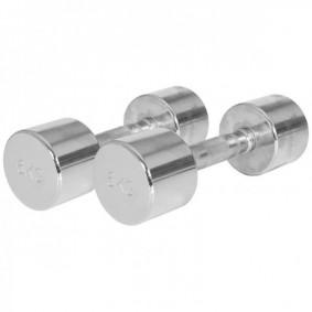 Halterbanken - Krachtapparatuur - kopen - Chroom Dumbellset 12 kg (2 x 6 kg)