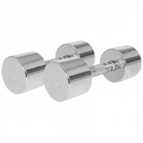 Halterbanken - Krachtapparatuur - kopen - Chroom Dumbellset 16 kg (2 x 8 kg)