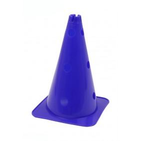 Pionnen & Markering - kopen - Grote Hoedvormige Behendigheid Kegel met gaten blauw
