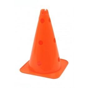 Pionnen & Markering - kopen - Grote Hoedvormige Behendigheid Kegel met gaten oranje