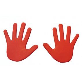 Pionnen & Markering - kopen - Hand Vloermarkering rood
