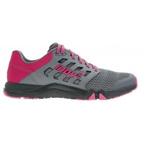 Fitness schoenen - Sportschoenen en Accessoires - kopen - Inov-8 All Train 215 Fitness Schoenen Dames – Dark Grijs / Roze / Zwart – 6.5