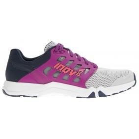 Fitness schoenen - Sportschoenen en Accessoires - kopen - Inov-8 All Train 215 Fitness Schoenen Dames – Licht Grijs / Paars / Marine