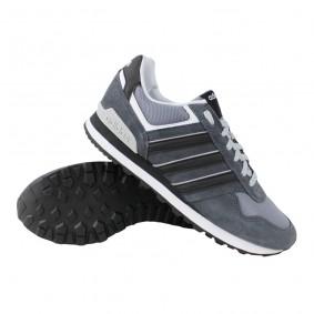 Fitness schoenen - Sportschoenen en Accessoires - kopen - adidas 10K fitnessschoenen heren grijs/zwart