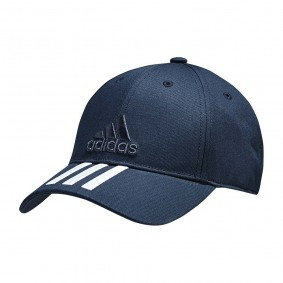 Fitnesskleding Heren - kopen - adidas 3-stripes Classic cap marine/wit