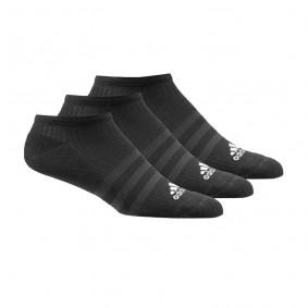 Fitnesskleding Heren - kopen - adidas 3-stripes Performance No Show sokken laag 3 paar unisex zwart