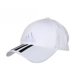 Fitnesskleding Heren - kopen - Adidas 3S cap cotton unisex wit/zwart