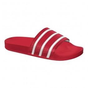 Fitness schoenen - Sportschoenen en Accessoires - kopen - Adidas Adilette slippers rood/wit