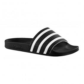 Fitness schoenen - Sportschoenen en Accessoires - kopen - Adidas Adilette slippers zwart/wit