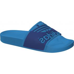 Fitness schoenen - Sportschoenen en Accessoires - kopen - Adidas Adilette Trefoil slippers blauw