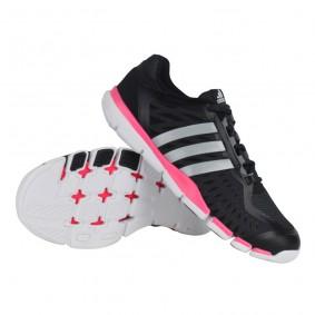 Fitness schoenen - Sportschoenen en Accessoires - kopen - Adidas AdiPure 360 Control fitnessschoenen dames zwart/grijs/wit/roze