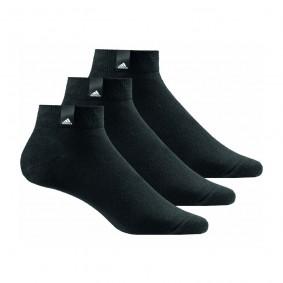 Fitnesskleding Heren - kopen - adidas Benelux sokken half hoog 3 paar zwart unisex
