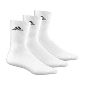 Fitnesskleding Heren - kopen - adidas Benelux sokken hoog 3 paar wit unisex