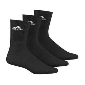 Fitnesskleding Heren - kopen - adidas Benelux sokken hoog 3 paar zwart unisex