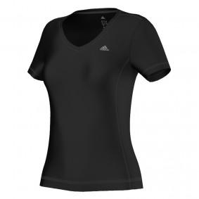 Fitnesskleding Dames - kopen - Adidas ClimaLite Essentials shirt dames zwart