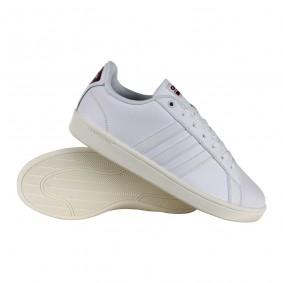 Fitness schoenen - Sportschoenen en Accessoires - kopen - Adidas Cloudfoam Advantage fitnessschoenen wit/rood