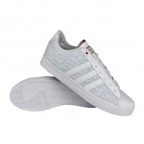 Fitness schoenen - Sportschoenen en Accessoires - kopen - adidas Cloudfoam Daily QT LX schoenen dames wit