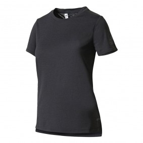 Fitnesskleding Dames - kopen - Adidas Core Chill shirt dames antraciet