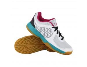 Fitness schoenen - Sportschoenen en Accessoires - kopen - adidas Counterblast 3K fitnessschoenen kids wit/turquoise/roze