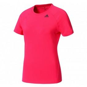 Fitnesskleding Dames - kopen - adidas D2M Solid shirt dames roze